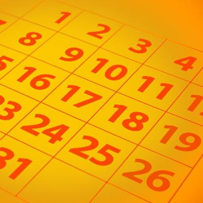 2017 Regionals Dates
